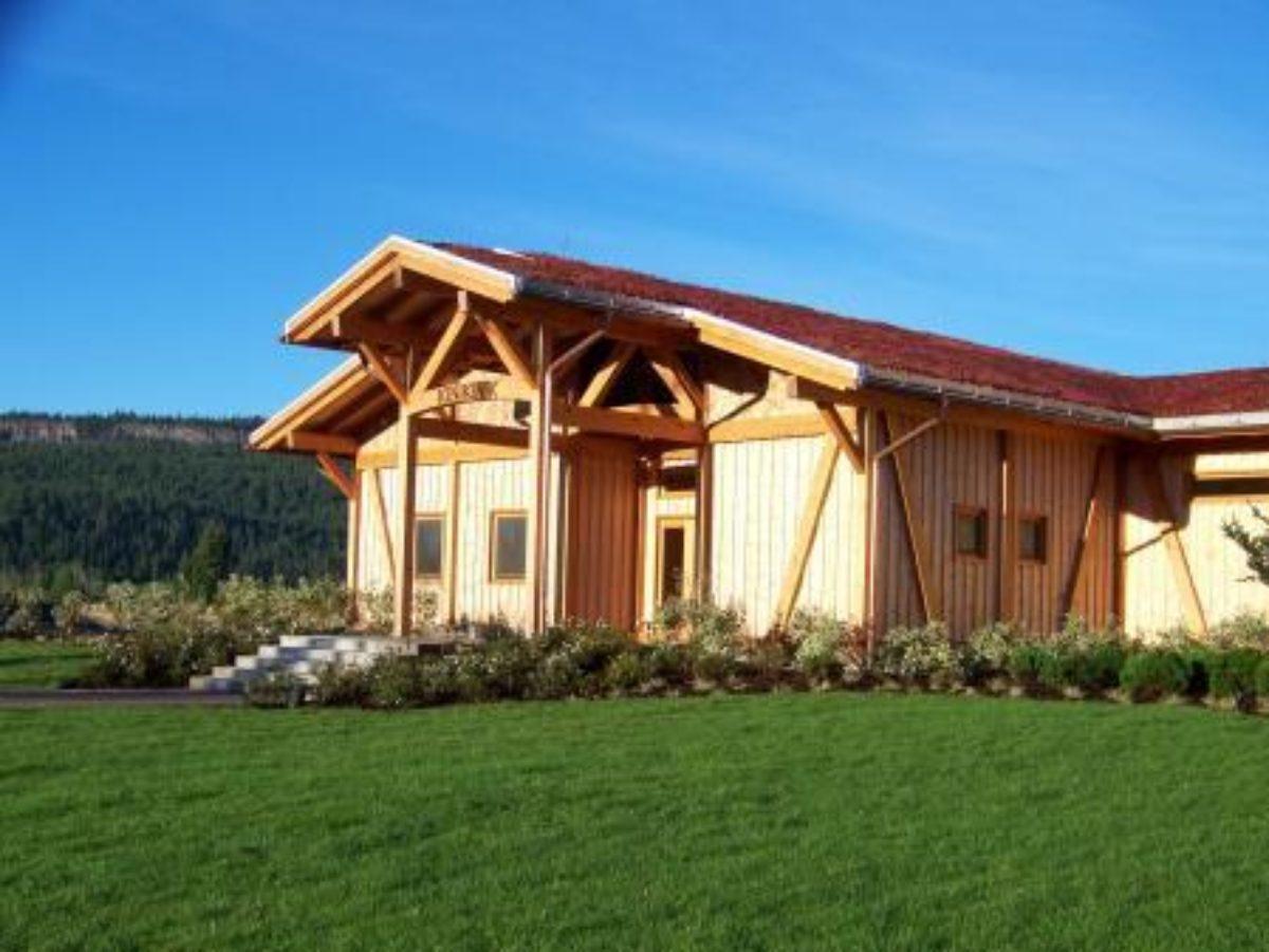 Ot Timber Frames Bc Log Timber