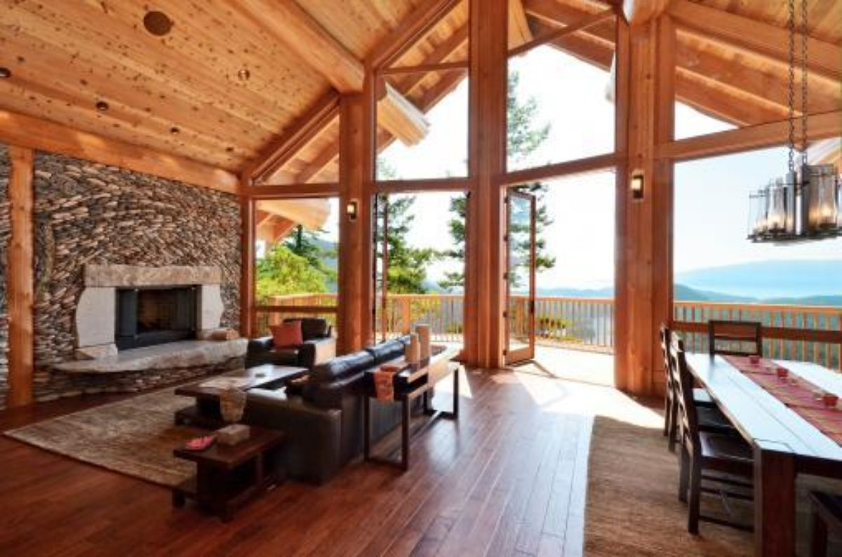 West coast log homes bc log timber for West coast home plans